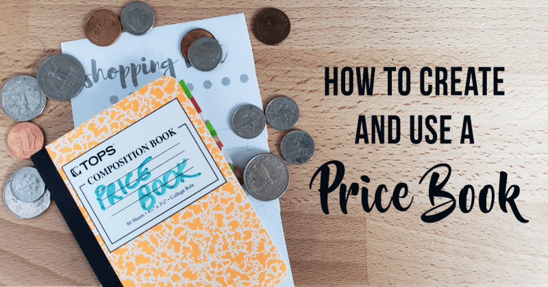 DIY Price Book for Grocery Savings and Stocking a Pantry