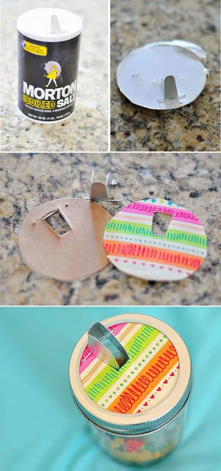 Mason Jar Match Box craft