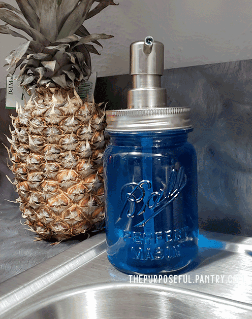 Canning Jar Soap Dispenser as a Useful Canning Jar Craft