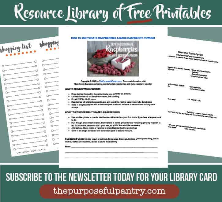 Free Printabes image showing subscribe button and samples of free printables