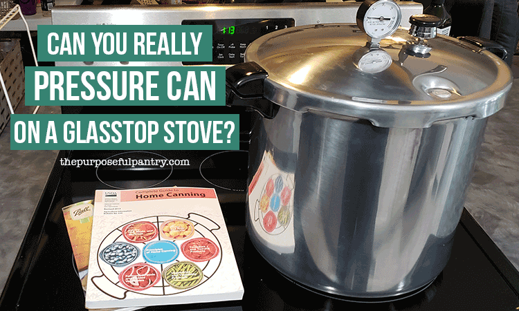 Presto Canner on glass stovetop