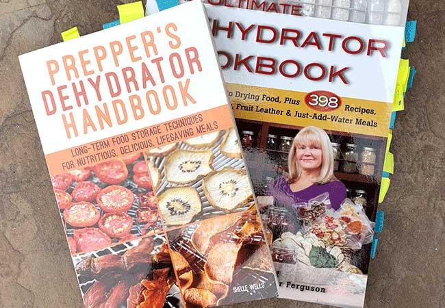 2 Dehydrating cookbooks