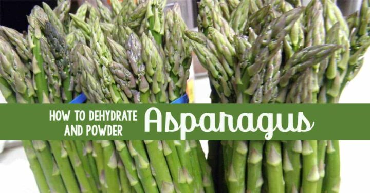 Asparagus stalks in bunches
