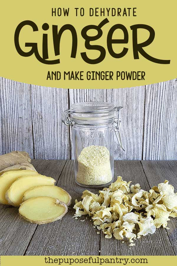 Ginger slices, ginger slices and ginger powder