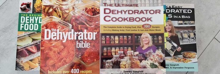 Dehydrating recipe books