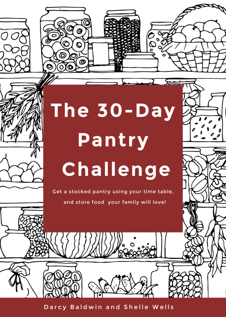 Book Cover of the 30 Day Pantry Challenge