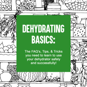 Dehydrating Basics ebook cover page