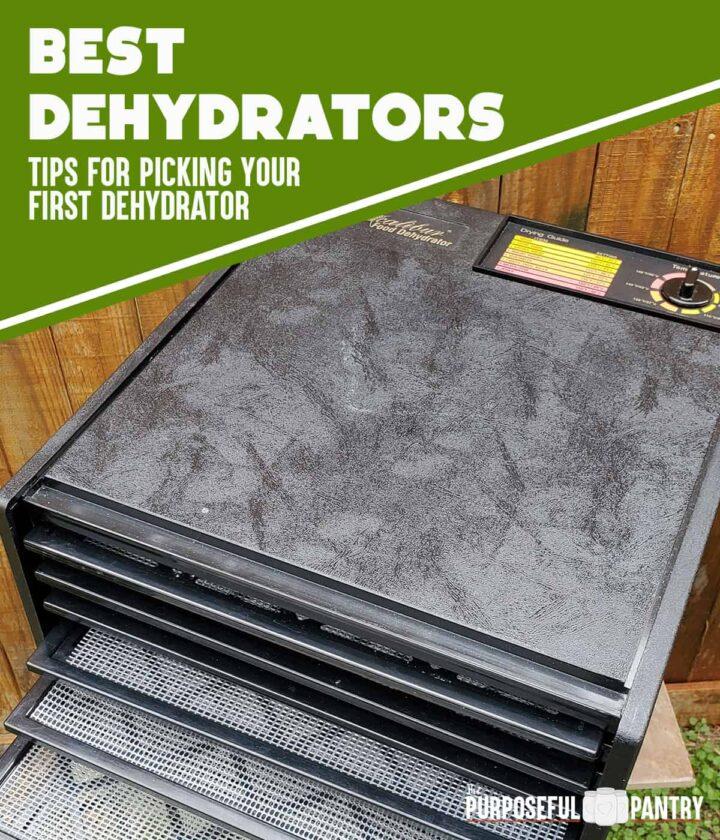 Excalibur Dehydrator for beginners