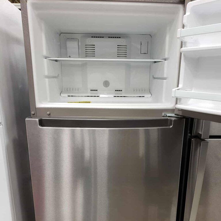 Open empty freezer for tips on preserving frozen foods during power outage